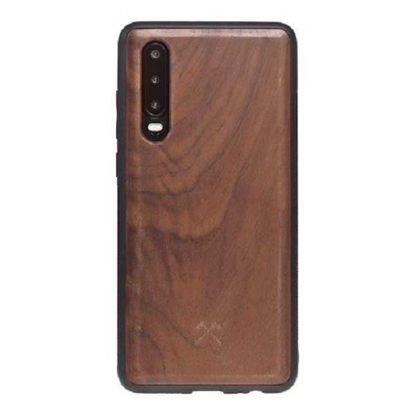Woodcessories EcoBump Walnut/Black Huawei P30