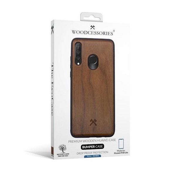 Woodcessories EcoBump Walnut/Black Huawei P30 Lite