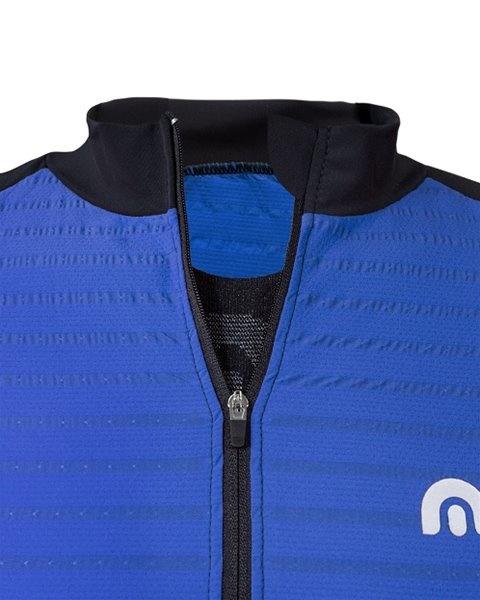 Megmeister Jersey Plain Stripe Cosmic Blue S