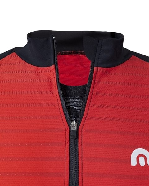 Megmeister Jersey Plain Stripe Racing Red M