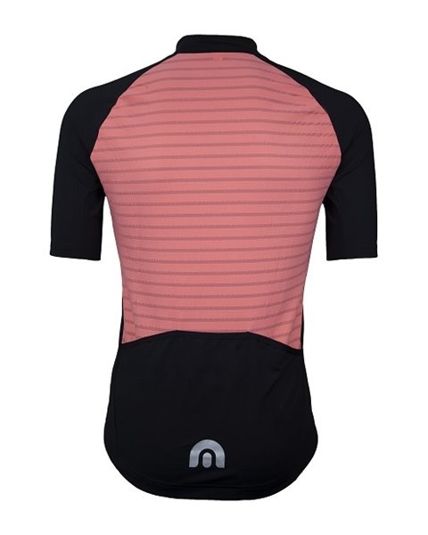 Megmeister Jersey Plain Stripe Pink XL