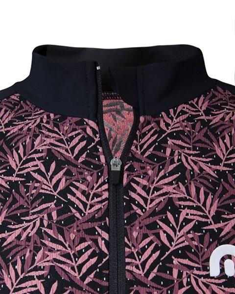 Megmeister Jersey Fern Leaves Pink M
