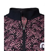 Megmeister Jersey Fern Leaves Pink L