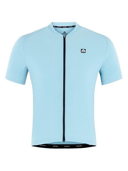 Megmeister Ultrafris Cycling Jersey Light Blue M