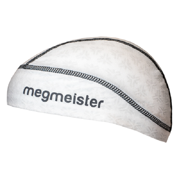 Megmeister Ultrafris Skull Cap White L/XL