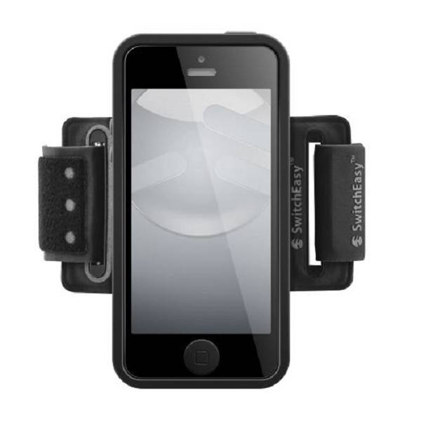 SwitchEasy Move Sport Armband iPhone 5/5S/SE Black