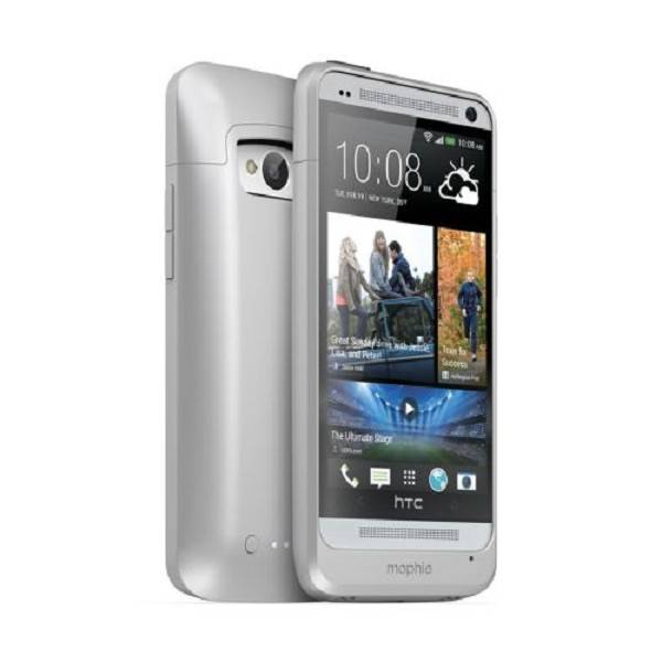 mophie juice pack HTC One Silver