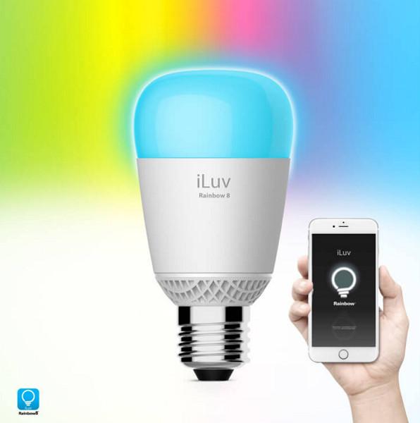 Rainbow8 WiFi Multicolor LED Light Bulb