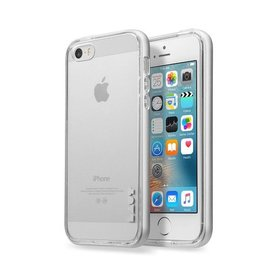 LAUT Exo-Frame iPhone 5/5S/SE Silver