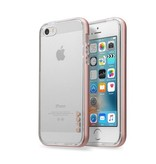 LAUT Exo-Frame iPhone 5/5S/SE Rose Gold