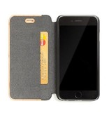Woodcessories EcoFlipcover Maple/Leather iPhone 7/8P