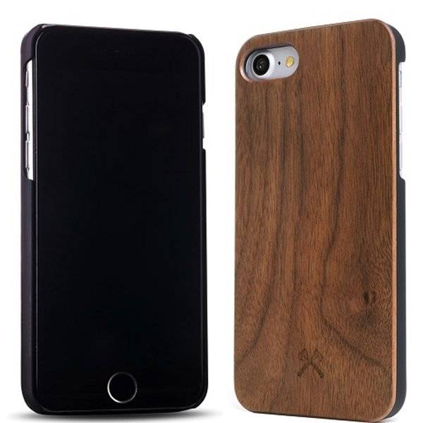 Woodcessories EcoCase-Classic Walnut/Black iPhone 7/8