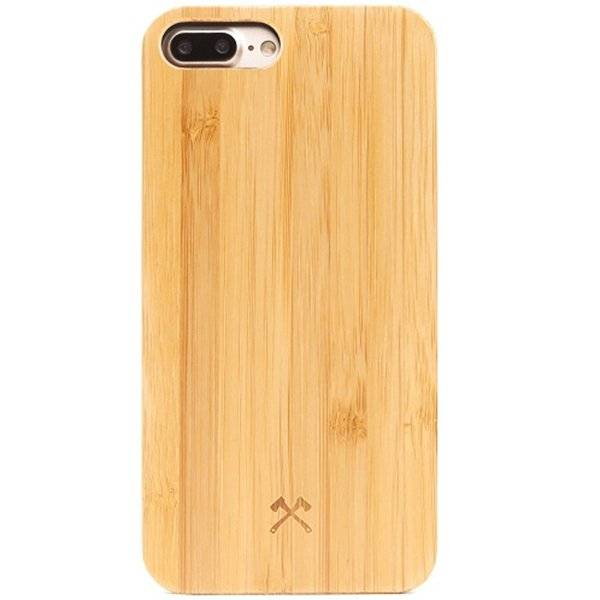 Woodcessories EcoCase-Classic Bamboo/Black iPhone 7/8P
