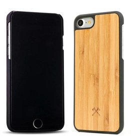 Woodcessories EcoCase-Casual Bamboo/Black iPhone 7