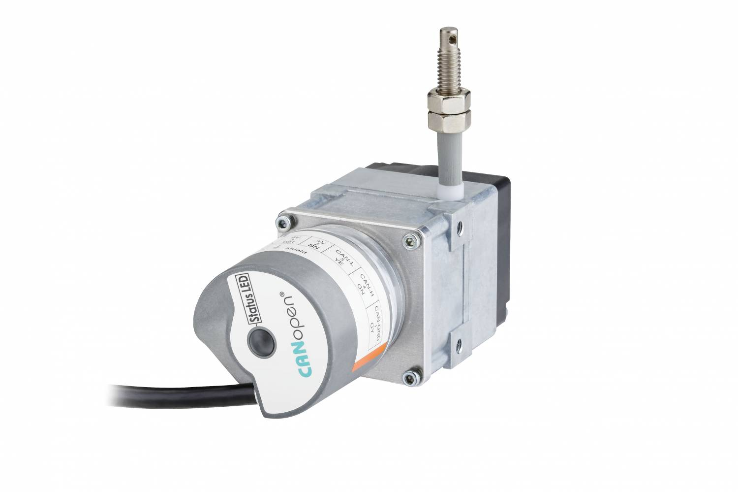 High performance at an attractive price: the new pull wire encoders from Kübler