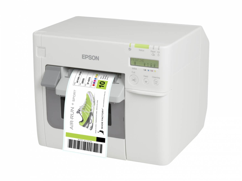 De Epson TM-C3500, de hoogwaardige kleuren label printer
