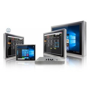 Winmate IP69K Flat Stainless P-CAP Panel PC
