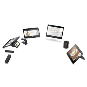 HP 5XY08AA - HP Engage One Prime Android  - Zwart
