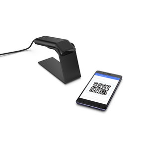 HP 4VW58AA Engage One Prime Barcode Scanner - Black