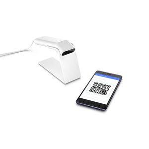 HP 4VW64AA Engage One Prime Barcode Scanner - white