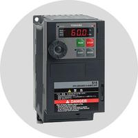 Frequentie regelaars 1 en 3 fase voor 0.2 tot 630 kW