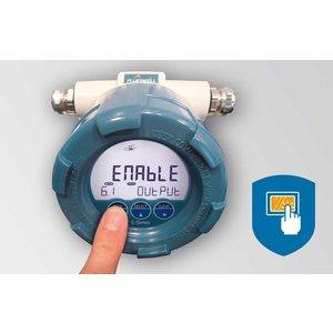 Fluidwell E115 bi-directionele  explosieveilige  indicators/totalizers