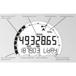 Fluidwell E115 bi-directional explosion-proof indicators / totalizers