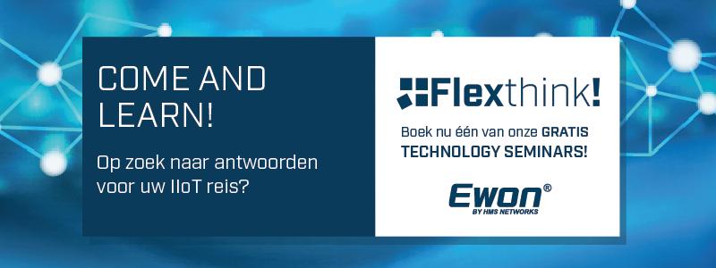 Ewon Flexthink event