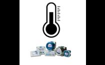 Temperatuur displays