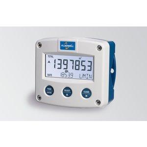 Fluidwell F018 Flow rate Monitor / Totaliser - met linearisatie, puls, alarm -en analoge uitgangen + HART-communicatie