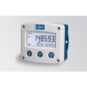Fluidwell F126ELFlow computer - met temperatuurcompensatie voor gecorrigeerd vloeistofvolume