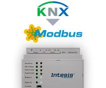 Intesis KNX to Modbus gateway