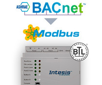 Intesis BACnet naar Modbus-gateway