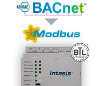 Intesis BACnet to Modbus gateway
