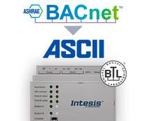 Intesis BACnet  to ASCII gateway