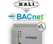 Intesis DALI to BACnet server gateway