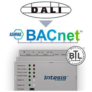 Intesis DALI naar BACnet IP & MS/TP server gateway