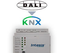 Intesis DALI to KNX gateway