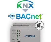 Intesis KNX to BACnet gateway