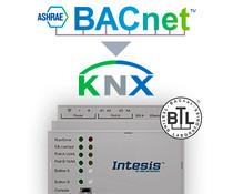Intesis BACnet to KNX gateway