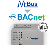 Intesis M-Bus to BACnet gateway