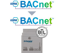 Intesis BACnet MS/TP naar BACnet IP router