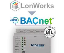 Intesis LonWorks naar BACnet gateway