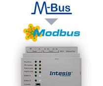 Intesis M-Bus naar Modbus gateway