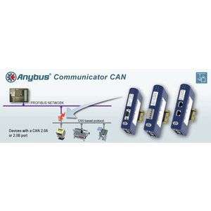 Anybus Communicator CAN Modbus-TCP slave AB7319