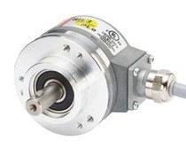 Kübler Sendix 5853 FS3 encoder, absoluut singleturn, SIL3/PLe optisch, SSI BiSS SinCos