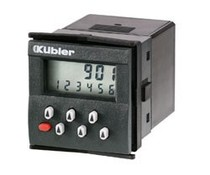 Kübler 901 preset counter, LCD display, battery powered
