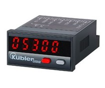Kübler Codix 530 proces display met analoge totaliser