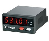Kübler Codix 531 Pt100 temperatuur display
