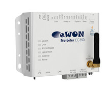 EWON Netbiter EC350, remote monitoring and / or access, GPS / GSM / GPRS / 3G
